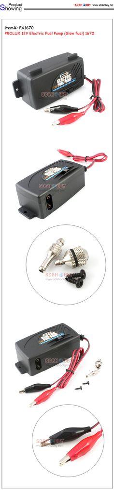 PROLUX 12V Electric Fuel Pump (Glow fuel) 1670