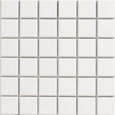 Onyx White Gloss Mosaic Tiles - 300 x 300mm - x 1