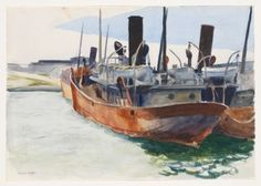 Whitney Museum of American Art: Edward Hopper: (Trawler) American Realism, American Artists, Manet, Edward Hopper Paintings, Ashcan School, Joseph Mallord William Turner, Toulouse, Pop Art, Whitney Museum