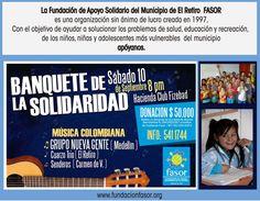 Fundación Fasor El Retiro 15 de agosto a las 21:07 ·  Email: fasorelretiro@fundacionfasor.org  Contacto: (57) 541 17 44 | 310 426 88 24 Calle 21N 19 -10 El Retiro Antioquia#orienteantioqueño #lomejordeloriente#antioquia #colombia #nuestrosniños #ApoyaNuestrosNiños #LoMejordelOriente, #OrienteAntioqueño, #Antioquia, #Colombia #fundacionfasor