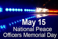 peace officer memorial day 2012