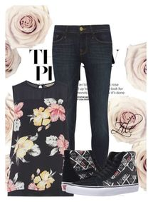 The New Pretty by zile-huma on Polyvore featuring polyvore, fashion, style, Billie & Blossom, Frame Denim, Vans and clothing