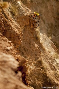 Be brave on a mountain bike. #cycling