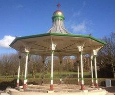 Fountain, bandstand and sculpture for Victorian park Lost Art, Terracotta, Metal Working, Fountain, Gazebo, Restoration, Victorian, Outdoor Structures, Sculpture