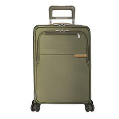 BRIGGS RILEY BASELINE DOMESTIC CARRY ON EXPANDABLE SPINNER 4 WHEEL SUITCASE