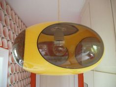 Space Age UFO Lamp Light Vintage Luigi Colani Design Lampe 70 70s 70s Retro 60s | eBay