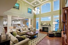 A Tastefully Designed Living Space by Toll Brothers: Deleware