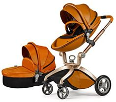 If luxury strollers is what you are looking for, then hot mom 3 in 1 stroller will do the trick. This stroller has an elegant design and is sure to turn heads and earn a lot of compliments. It comes with seven functional gifts to compliment it. It features 100% pu leather seat fabric, an adjustable seat and handlebar, a reversible stroller seat anda multi position reclining seat. Ease of use and convenience Stroller seat The stroller seat reclines to multiple positions, including a near…