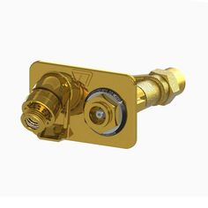 3/4 in. Female SWT x Close Coupled Freezeless Polished Brass Anti-Siphon Wall Hydrant