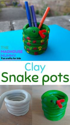 Clay Projects For Kids, Clay Crafts For Kids, Kids Clay, Animal Crafts For Kids, Toddler Crafts, Preschool Crafts, Art For Kids, Crayola Air Dry Clay, Mummy Crafts