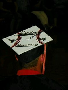 For all our softball girls graduating this year! @Mikayla Jacks Decorate Your Graduation Cap at www.tasseltoppers.com