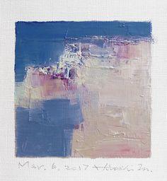 Mar. 6 2017 Original Abstract Oil Painting by hiroshimatsumoto