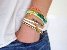 bracelet stacking - Google Search
