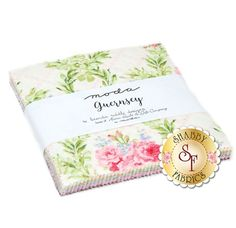 Guernsey Charm Pack by Brenda Riddle for Moda Fabrics: Guernsey is a collection by Brenda Riddle for Moda Fabrics. This charm pack contains 42 squares, each measuring 5 Shabby Fabrics, Guernsey, Build A Snowman, Charm Pack, Quilt Kits, Squares, Flannel, Collections, Quilts