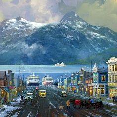 Пазл онлайн: Аляска