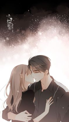 anime boy and girl Anime Cupples, Anime Kiss, Kawaii Anime, Romantic Anime Couples, Romantic Manga, Anime Couples Sleeping, Anime Couples Hugging, Couple Manga, Anime Love Couple