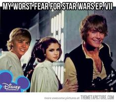 Worst fear for the new Star Wars movie… and kids this generation will consider them the original :(