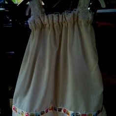 Toddler pillowcase nightgown