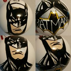 Batman.Christmas balls