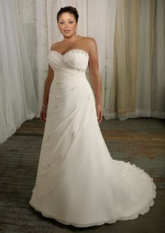 wedding dress from Julietta by Mori Lee Style 3106 Delicate Chiffon with Beading