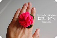 Tutorial para realizar un anillo en forma de rosa