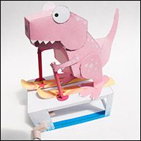 Animated origami! I love this site!