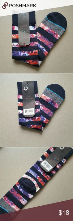 "Stance Corsair Topstich Collection Socks - L/XL NWT Stance Corsair socks. Sold out in stores and online but lucky for you I've got a pair!  So click ""Buy Now"" and give these babies a new home!  #stance #stancesocks #supimacotton #soldout #socks Stance Underwear & Socks Casual Socks"