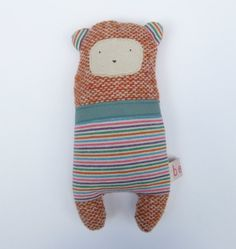 knitted bear
