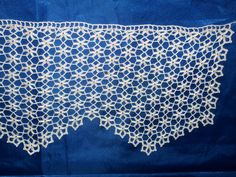 White linen with edge lace - Crochet Clothing 2019 - 2020 Easy Crochet Patterns, Crochet Motif, Crochet Doilies, Lace Runner, Crochet Curtains, Valentines Gifts For Her, Yarn Shop, Pink Outfits, Crochet Home