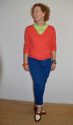 Ginger Skinny Jeans, A Colourful Canvas