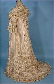 Edwardian dressing gown…