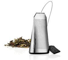 Un Sachet de thé réutilisable à volonté ! Le Sachet de thé Eva Solo est un sachet en acier inoxydable et silicone. Il vous permettra de doser le thé selon vos préférences. Sachet de thé réutilisable en Acier inoxydable et Silicone 5,3x4,6x9cm