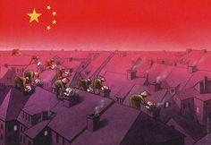 50 reveladoras ilustraciones de Pawel Kuczynski sobre el irónico mundo en el que vivimos.