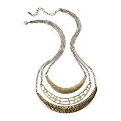 Target Three Row Necklace