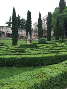Giardino Giusti Verona #garden #verona #tourism #tourist #italy
