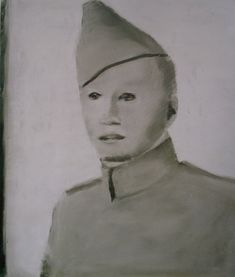 Luc Tuymans: 'Soldier' (image courtesy of wikiart.com)