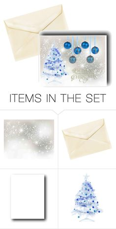 """Blue Christmas"" by margaretkellogg ❤ liked on Polyvore featuring art, Christmas, holidays and christmasCards"