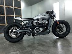 Used 2015 Indian Scout Cafe Racer Custom for sale in Las Vegas, Nevada, Usa
