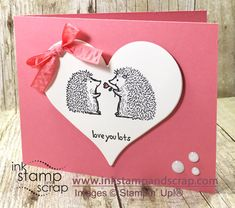 Love You Lots Stampin' Up! New Hostess Stamps - Ink Stamp and Scrap