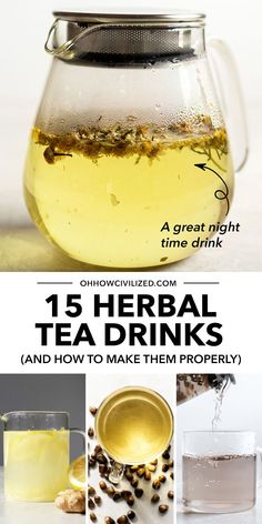 Herbal tea drinks have amazing health benefits and can be super soothing, especially on the days when you're feeling fatigued, stressed, or just spent! Here are 15 herbal tea drinks for you to try, plus steps on how to make each tea drink properly. Click to explore! Tea Drinks, Fancy Drinks, Yummy Drinks, Beverages, Herbal Tea Benefits, Herbal Teas, Health Benefits, Hot Tea Recipes, Coffee Recipes
