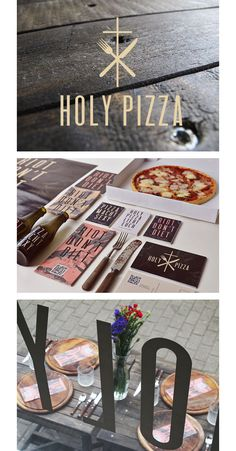 Tobias Tietchen / #brand identity & collateral - Holy Pizza