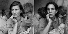 """Renowned photographer Sandro Miller wanted to celebrate the photography greats that had inspired and guided him, so he, with John Malkovich as his dashing unisex model, recreated some of those influential photographers' most important portraits in a photo series called """"Malkovich, Malkovich, Malkovich: Homage to photographic masters."""""""