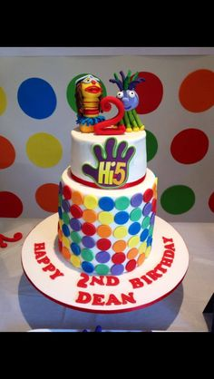 11 Best Hi 5 Bithday Party Theme Images