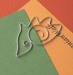 hedgehog - wire bookmark