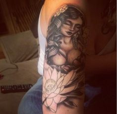 Beautiful breastfeeding tattoo artwork for a nursing mom!