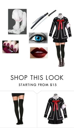 """Mika Vampire Knight"" by bella-schroeder ❤ liked on Polyvore featuring S.W.O.R.D."