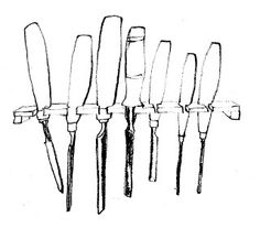 Clachan chisels