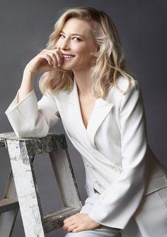 Кейт Бланшетт: фото актрисы и интервью о фильме «Кэрол», семейной жизни и секретах красоты | Vogue | Красота | BEAUTY GUIDE | VOGUE