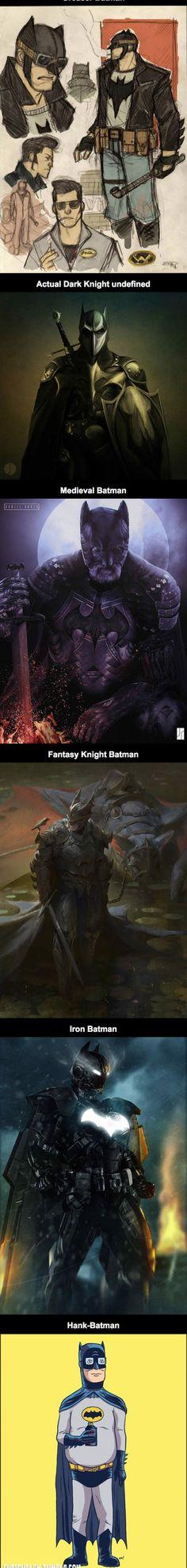 «Fan art» de Batman | 5 Minutes à perdre