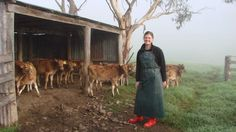 Australian National University medical students visit dairy farms for insight into farm life